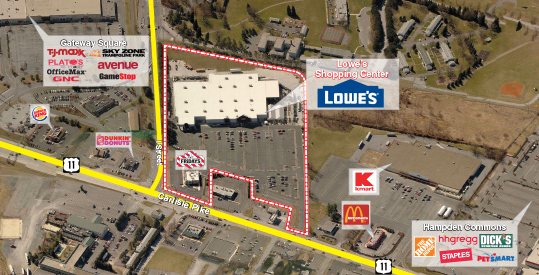 Lowe s shopping center rd management llc for Home goods carlisle pike